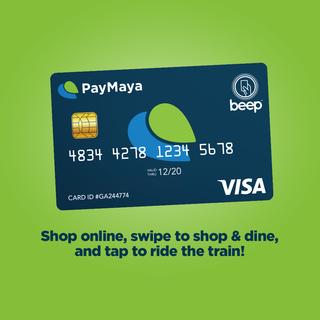 PayMaya EMV Card with Beep