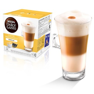 NESCAFE DOLCE GUSTO Capsule Vanilla Latte Machiato (NDG10)