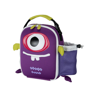 Igloo Creature Shapes Phizzt Lunch Bag (Purple) (157584 purple)