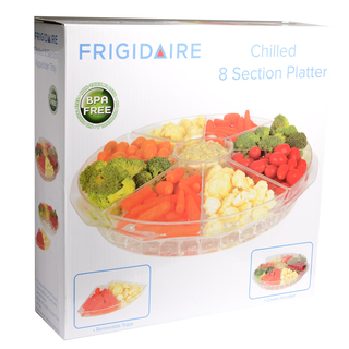 FRIGIDAIRE CHILLED 8SECTION APPETIZER TRAY (53000)