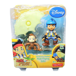Jake and the Neverland Pirates YO HO! Let's Glow Figure (01364)