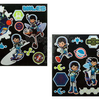 Disney Miles from Tomorrowland Wall Decals (02076)