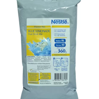 NESTLE Blue Lemonade Flavor Fruit Drink Mix  360 grams