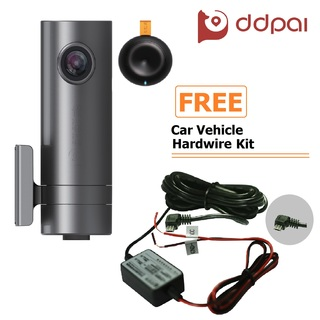 DDPai MINI2 Dashboard Camera (Deep Grey) with FREE Car Vehicle Hard Wire Kit (DDPAI-MINI2+HWK)