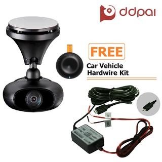 DDPai M4 Dashboard Camera (Black) with FREE Car Vehicle Hard Wire Kit (DDPAI-M4+HWK)
