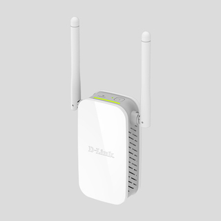 D-Link N300 DAP-1325 Wireless Range Extender (White)
