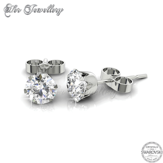Solitaire Earrings