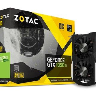 Zotac GeForce GTX 1050 Ti OC Ed...