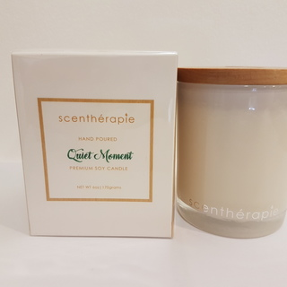 Scentherapie Quiet Moment  100% Soy Wax Candle 170 gms