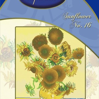 DMC INSPIRATIONS CROSS-STITCH KIT: SUNFLOWER NO. 16 (ECK-115)