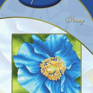 DMC INSPIRATIONS CROSS-STITCH KIT: PEONY (ECK-119)