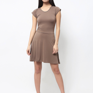 Uropa Beige Dress (AUV001032)