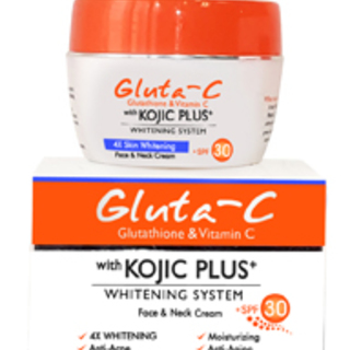 Gluta-C with Kojic Plus+ Face and Neck Cream + SPF30 (25gms)