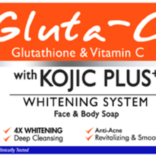 Gluta-C with Kojic Plus+ Face and Body Soap (60gms)