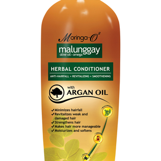 Moringa- O2  Malunggay Herbal Conditioner with Argan Oil (350 ml)