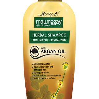 Moringa- O2  Malunggay Herbal Shampoo with Argan Oil (75 ml)