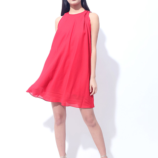 CANVAS BETH DRESS (Red)