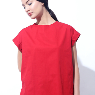 CANVAS MAYEI V BACK TOP (Red)