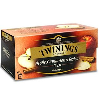 TWININGS APPLE CINNAMON RAISIN TEA 2.0 GM - 1 X 25 (33990)