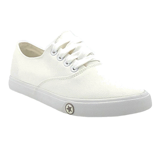 APPETITE SHOES- WOMEN'S BASIC LACE UP SNEAKERS (APL318WHT)