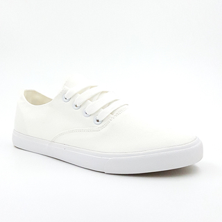 APPETITE SHOES- WOMEN'S BASIC LACE UP SNEAKERS (APL328WHT)