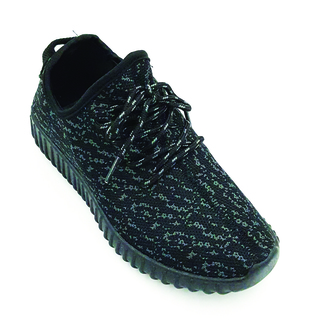 APPETITE SHOES-WOMEN CASUAL FASHION SNEAKERS BREATHABLE ATHLETIC SPORTS SHOES (AP612BOOSTBLK)
