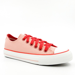 APPETITE SHOES-WOMEN'S CHUCK LOW CUT SNEAKERS (APBE6028PEACH)