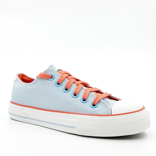 APPETITE SHOES-WOMEN'S CHUCK LOW CUT SNEAKERS (APBE6028LBLUE)