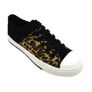 APPETITE SHOES- ANIMAL PRINT SNEAKERS (AP5541) BEIGE