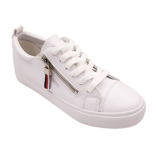 APPETITE SHOES- ZIPPER SLIP ON (APBE6810) WHITE