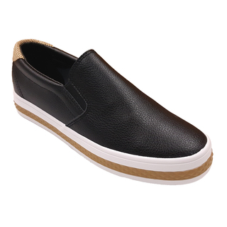APPETITE SHOES- FAUX LEATHER SLIP ON (APBE6862) BLACK