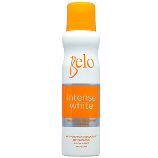 BELO INTENSE WHITE ANTIPERSPIRANT DEODORANT SPRAY 140ML