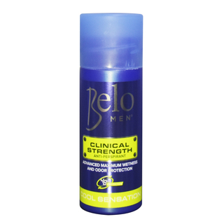 BELO MEN CLINICAL STRENGTH DEODORANT ROLL-ON 40ML - COOL SENSATION