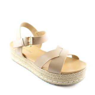 Mendrez Cherie Espadrille Sandals with Ankle Straps