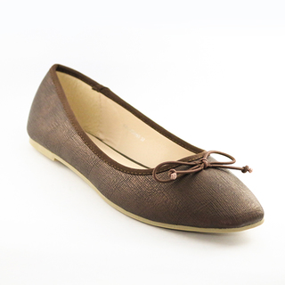Mendrez Ericka Ballerina flat shoes with bow