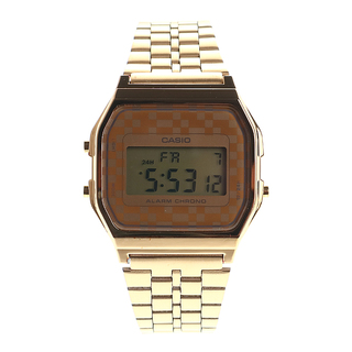VINTAGE GOLD CASIO WATCH DIGITAL. - A-159WGEA-9ADF