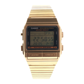 GOLD CASIO VINTAGE WATCH - DB-380G-1DF