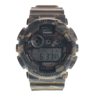 ARMY GREEN AND BROWN CAMOUFLAGE G-SHOCK - GD-120CM-5CR
