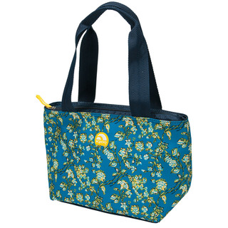 Igloo Provence Mini Tote 8 Lunch Bag (Floral French Blue) (159669 floral french blue)