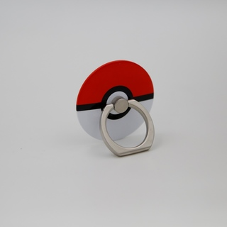 iRing Masstige Reusable 2 in 1 Safety Grip / Kickstand for Smart Devices (Pokeball)