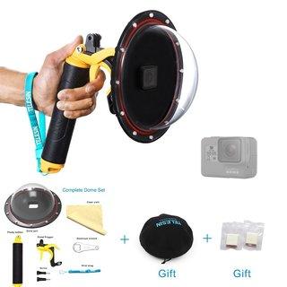 GoPro Hero 5 Waterproof Dome port + Pistol trigger set
