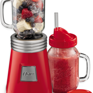 Oster Ball Mason Jar Blender Red (BLSTMM2-BRE)