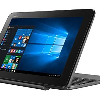 Asus T101HA-GR004T 10 Inches Z8350 (with Free Laptop Bag)