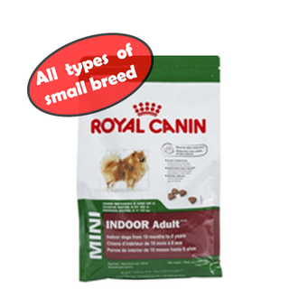 ROYAL CANIN MINI INDOOR ADULT DOG DRY FOOD
