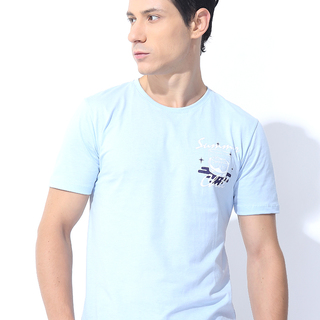 FOLDED AND HUNG SUMMER CHILL OOTEED LIGHT BLUE (M7SETT35L)