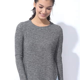 KNITTED PULLOVER GRAY (L7BCTL01A)