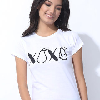 "FOLDED AND HUNG GRAPHIC OOTD ""XOXO""  (L7SETG29W)"