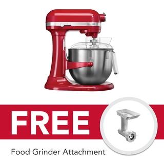 KitchenAid Mixer 7Qt Heavyduty (Empire Red) - 5KSM7591XBER0