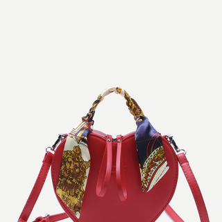 Red Heart Statement Sling Bag