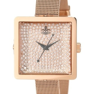 Vivienne Westwood Lady Cube Old Rose Watch